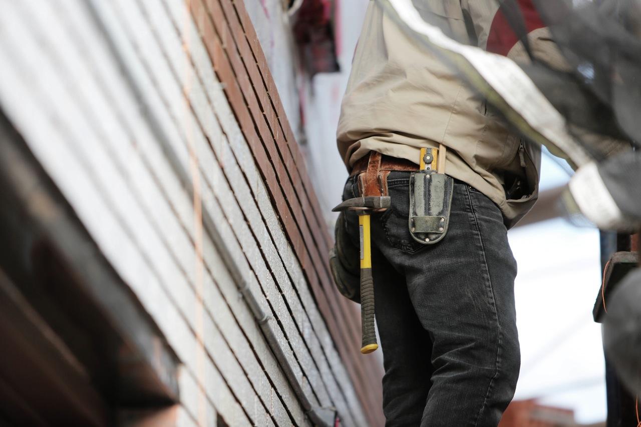 Byggare på bygge
